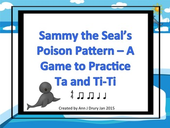 Sammy the Seal's Poison Pattern - A Rhythm Game to Practic