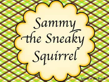 Sammy the Sneaky Squirrel Card Game