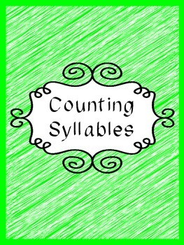 Sample Counting Syllables with Animals