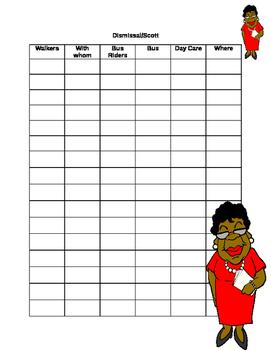 Sample Dismissal Form