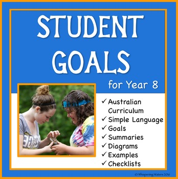 Sample Education Goals For the Australian Curriculum - Year 8