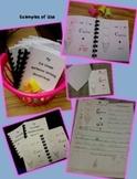 Sample Ice Cream Writing Rubrics for K-2 Authors (tied to