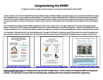 Sample Lessons/Resources from the NNWP's Writing Guides I