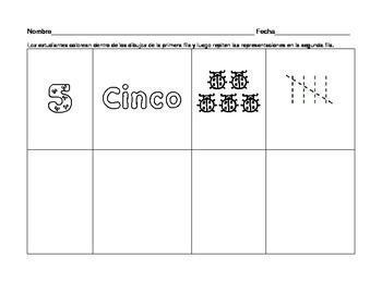Sample Numeros en Espanol