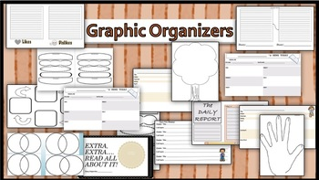 Sample Pack: Organizers, News Report Template, All about M
