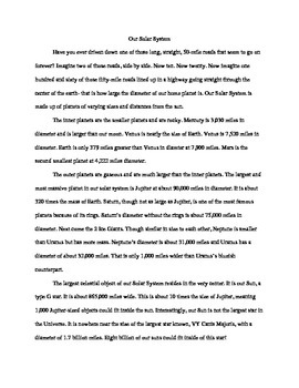 Sample Research Essay