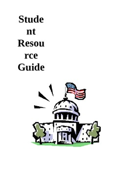 Sample Student Resource Guide