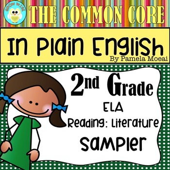 FREEBIE!  Common Core in Plain English: 2nd Grade Reading
