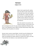 Samson-Judges 13-16 Children's Bible Story