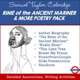 Samuel Taylor Coleridge Poetry Pack
