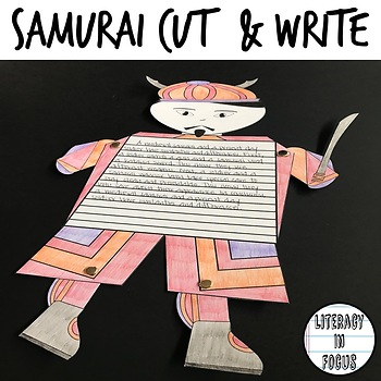 Samurai Cutout- Movable Body Parts!