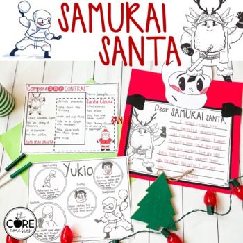 Samurai Santa Read-Aloud Activity