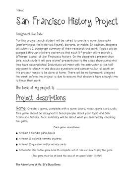 San Francisco History Project