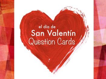 Question Cards - San Valentín (PowerPoint)