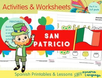 Día de San Patricio - Saint Patrick's Day: Lesson in Spanish