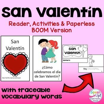 San Valentín {en español} Spanish Valentine's Day Reader