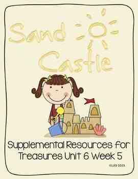 Sandcastle- Supplemental Resources for Treasures First Grade