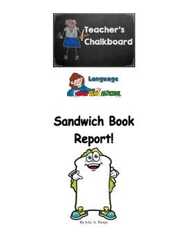 Sandwich Book Report Color