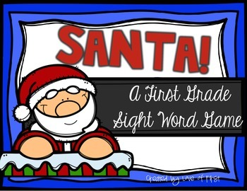 Santa! A First Grade Sight Word Game