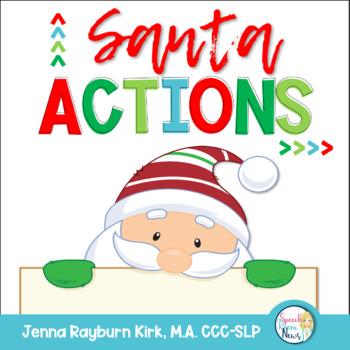 Santa Actions Cards: Freebie