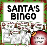 Santa's Bingo for Holiday Events and Classroom Parties {Co
