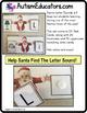 Santa Claus LETTER SOUNDS Task Cards for Christmas for Stu