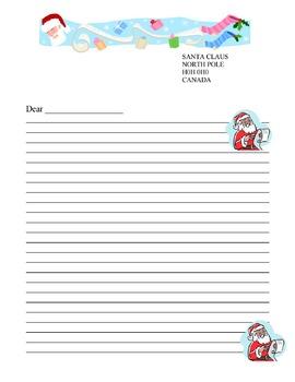 Santa Claus Letter Template