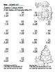 """Santa Claus Math"" 2 Digit Addition Regrouping Common Core"