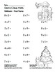 """Santa Claus Math"" Mixed Multiplication - Common Core - Fu"