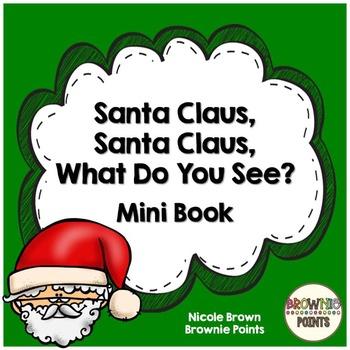 Santa Claus, Santa Claus Mini Book