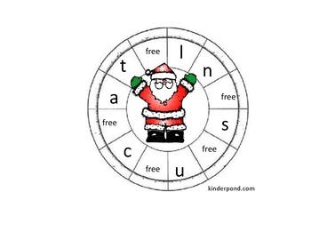 Santa Claus Spinner
