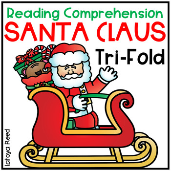 Santa Claus Tri-Fold