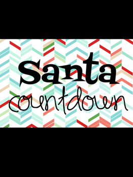 Santa Countdown - Countdown to Christmas Holiday Break