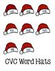 Santa Hat Match ~ CVC Words