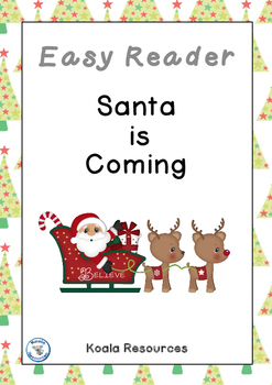 Santa Is Coming Easy Reader Christmas Emergent Reader