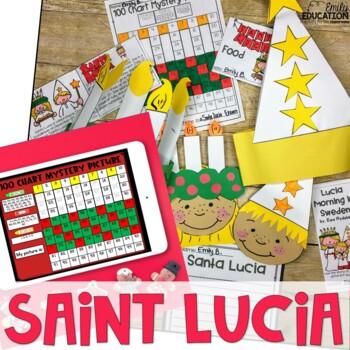 Santa Lucia/ Saint Lucia Activity Pack {Holidays Around th