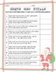 Santa Map Skills