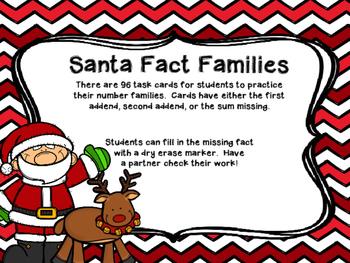 Santa Number Families