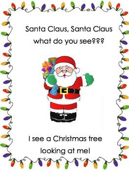 Santa, Santa what do you see? Book