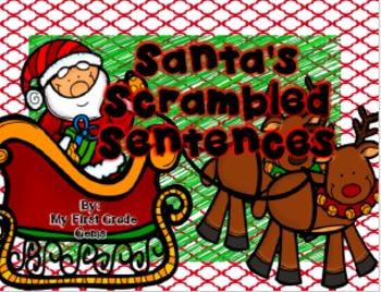 Santa's Scrambled Sentences