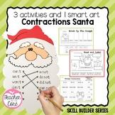 Santa Smart Art: Contractions
