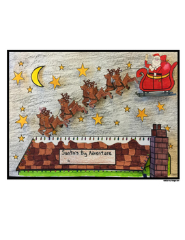 Christmas Story Writing Project With Template, Pop-Outs, a