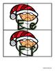 Santa Uppercase / Lowercase Alphabet Match -  RF.K.1d