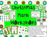 Santa and Elves Number Math Centers