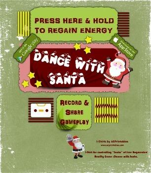 Santa controller image for Dance With Santa AR free app, D