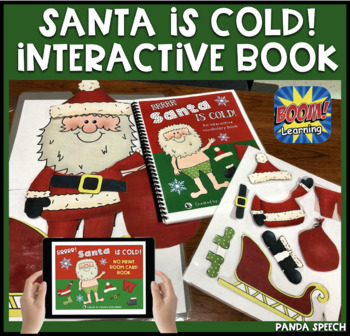 Santa is Cold! An interactive & adaptive book (+Bonus NO P