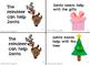 Santa's Helper Leveled Emergent Reader Sight Word {Mini-Bo