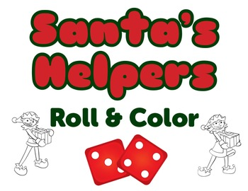 Santa's Helpers Roll and Color