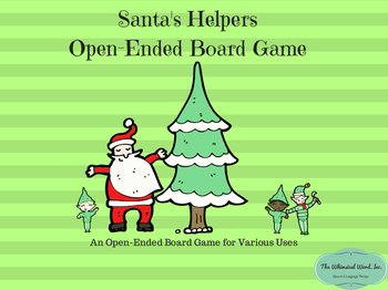 Santa's Helpers Teletherapy Open-Ended Board Game