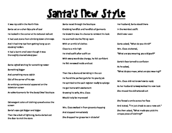 Santa's New Style (Creative thinking)